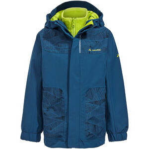 VAUDE Campfire IV 3in1 Jacket Kinder deep water deep water
