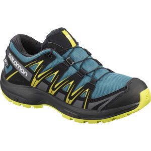 Salomon XA Pro 3D CSWP Shoes Jugend lyons blue/black/sulphur spring lyons blue/black/sulphur spring
