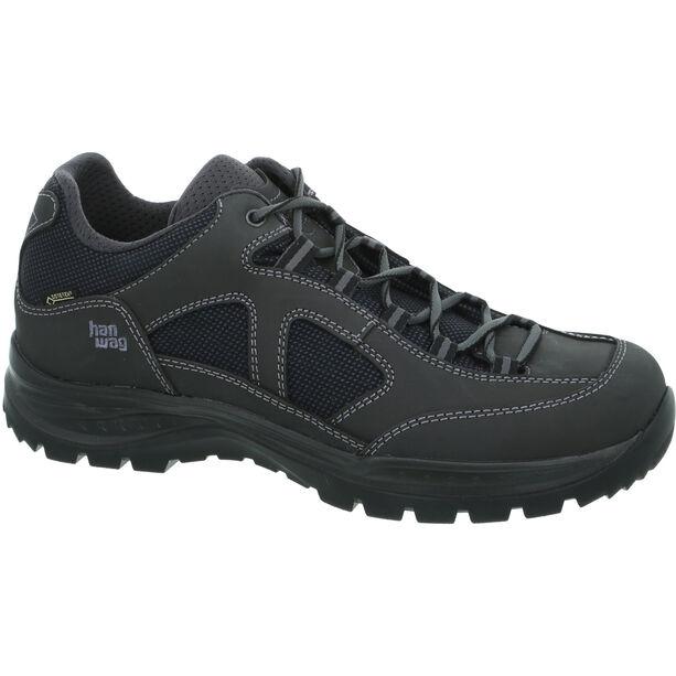 Hanwag Gritstone II Wide GTX Shoes Herren asphalt/black