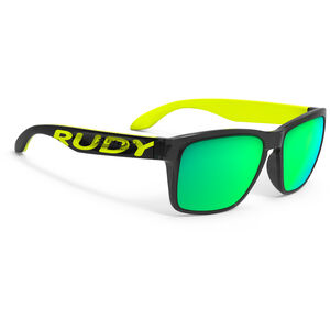 Rudy Project Spinhawk Loud Sunglasses crystal ash yellow fluo - rp optics multilaser lime crystal ash yellow fluo - rp optics multilaser lime