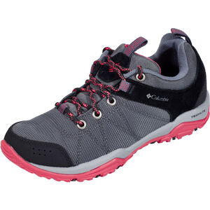 Columbia Fire Venture Textile Shoes Damen graphite/sunset red graphite/sunset red