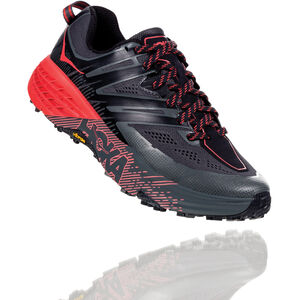 Hoka One One Speedgoat 3 Laufschuhe Damen dark shadow/poppy red dark shadow/poppy red