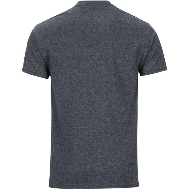 Marmot Coastal Kurzarm T-Shirt Herren charcoal heather