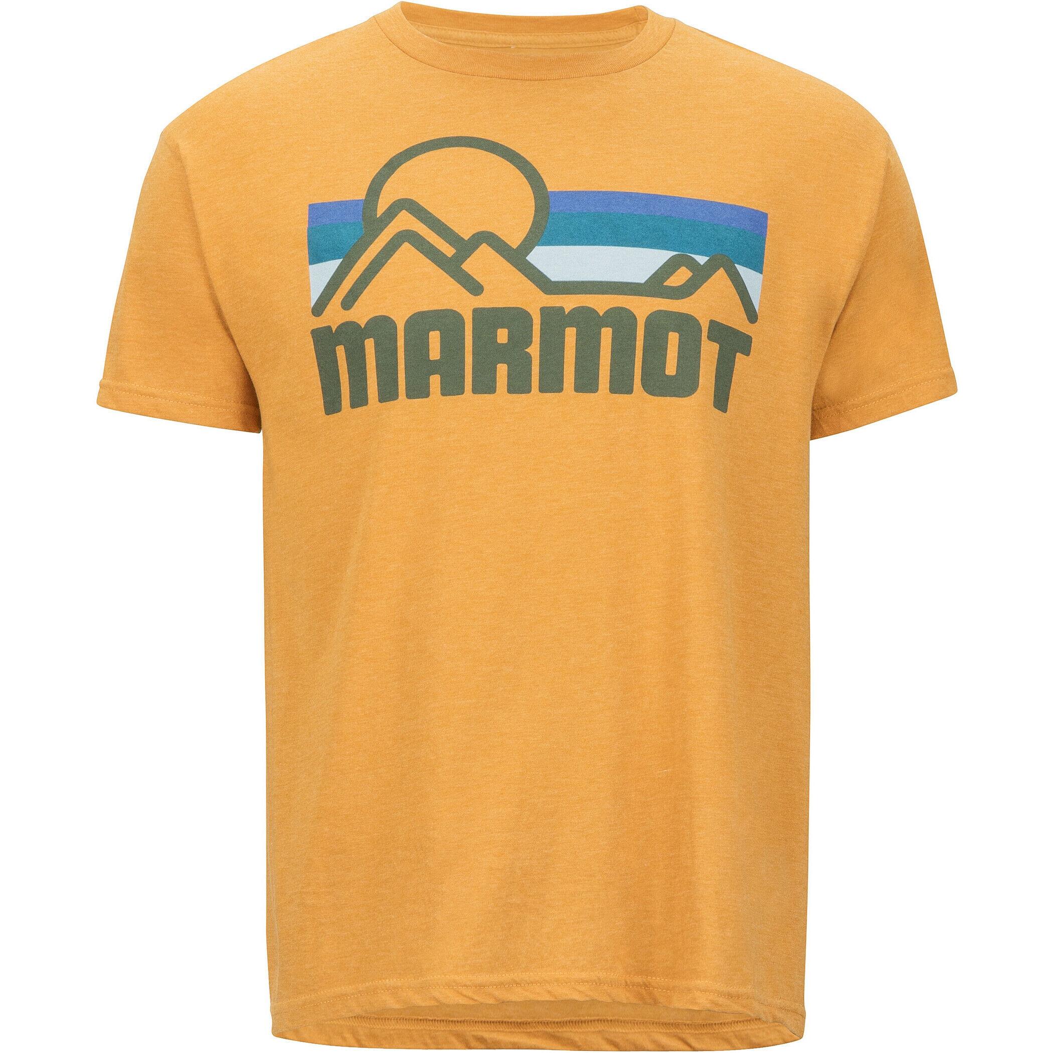 Marmot Rey Knolls Kurzarm T-Shirt Herren Charcoal Heather 2019 Kurzarmshirt