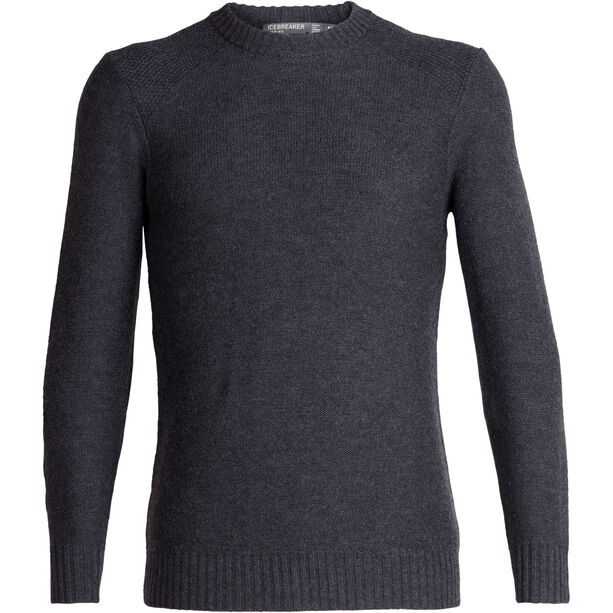 Icebreaker Waypoint Rundhals-Sweater Herren char heather