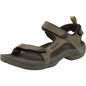 Teva Tanza Leather Sandals Herren brown brown