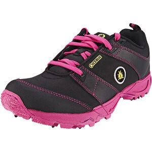 Icebug Pytho3 BUGrip Shoes Damen Black/Peony Black/Peony