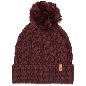 tentree Atlin Pom Beanie red mahogany red mahogany