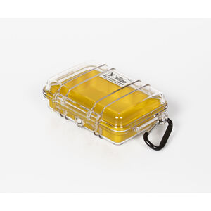 Peli MicroCase 1020 Box transparent-yellow transparent-yellow