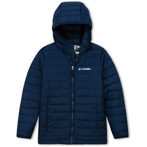 Columbia Powder Lite Kapuzenjacke Jungs collegiate navy collegiate navy