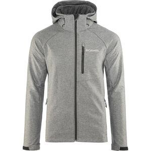 Columbia Cascade Ridge II Softshell Jacket Herren charcoal heather