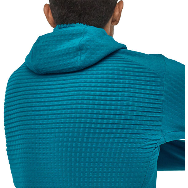 Patagonia R2 TechFace Hoody Herren balkan blue