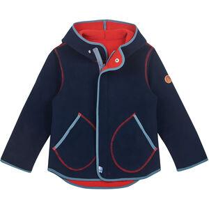 Finkid Jumppa Zip in Fleece Innenjacke Kinder navy/blue mirage navy/blue mirage