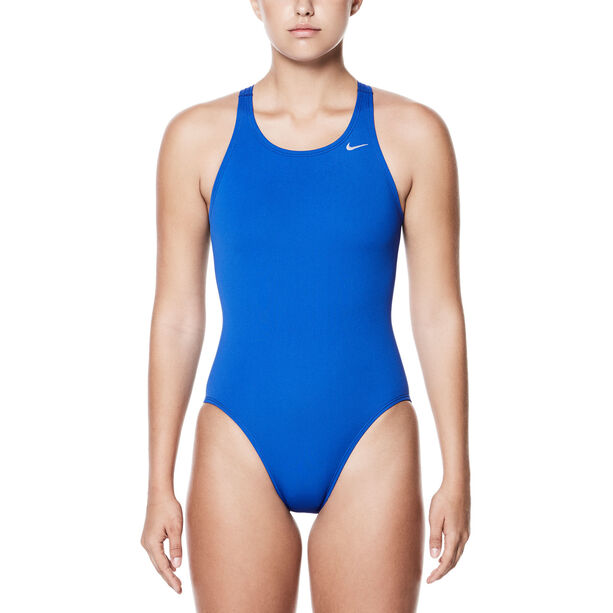 Nike Swim Poly Core Solid Fast Back One Piece Damen game royal