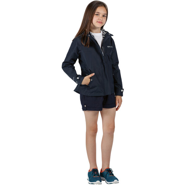 Regatta Bibiana Waterproof Shell Jacke Kinder navy