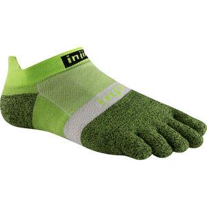 Injinji Run Xtralife Lightweight No Show Socks Herren chive chive