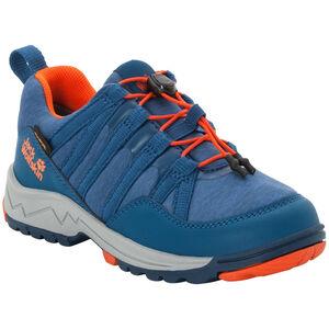 Jack Wolfskin Thunderbolt Texapore Low Schuhe Kinder blue/orange blue/orange
