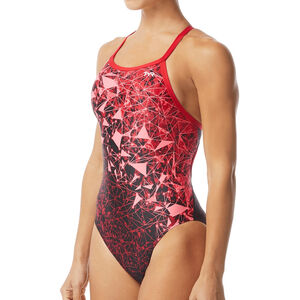TYR Orion Diamondfit Badeanzug Damen red red