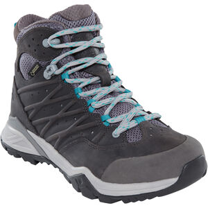 The North Face Hedgehog Hike II Mid GTX Shoes Damen q-silver grey/porcelain green q-silver grey/porcelain green