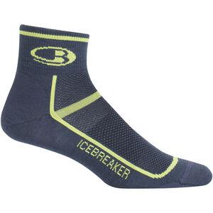Icebreaker Multisport Ultra Light Mini Socks Herren oil/citron oil/citron