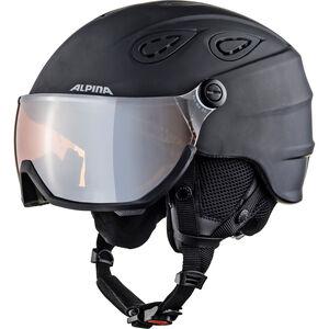Alpina Grap Visor 2.0 HM Ski Helmet black matt black matt