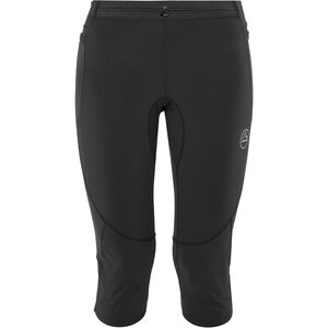 La Sportiva Vortex 3/4 Tights Damen black/grey black/grey