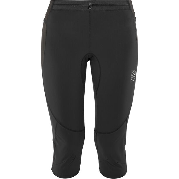 La Sportiva Vortex 3/4 Tights Damen black/grey