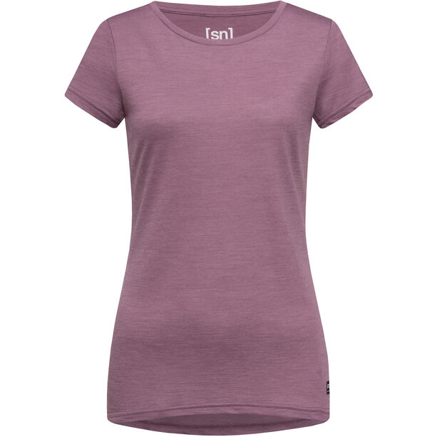 super.natural Everyday T-Shirt Damen berry conserve melange