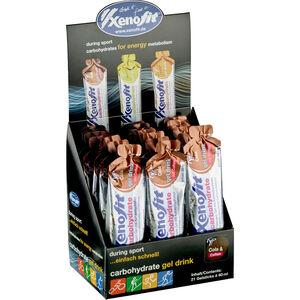 Xenofit Kohlenhydrat Hydro Gel Box 21x60ml Cola mit Koffein