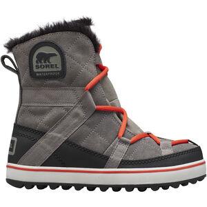 Sorel Glacy Expl**** Shortie Boots Damen quarry quarry