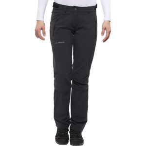 VAUDE Farley II Stretch T-Zip Capri Damen black black