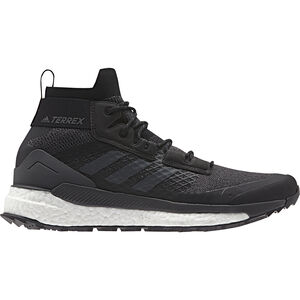 adidas TERREX Free Hiker Wanderschuhe Herren core black/gresix/active orange core black/gresix/active orange