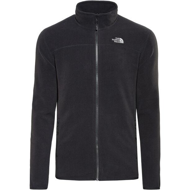 The North Face 100 Glacier Full-Zip Jacket Herren tnf black