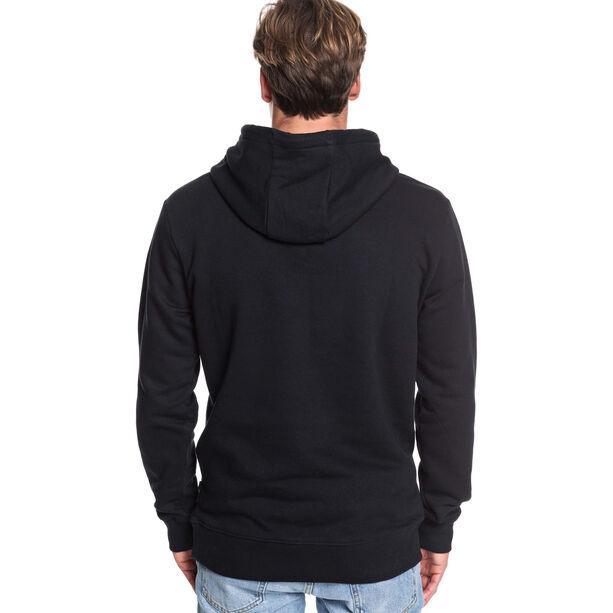 Quiksilver Omni Logo Screen Fleece Hoodie Herren black