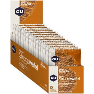 GU Energy Stroop Waffel Box 16x32g Salty