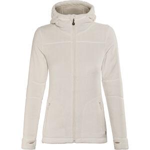 Meru Nunavut Hooded Teddy Fleece Jacket Damen marshmallow marshmallow