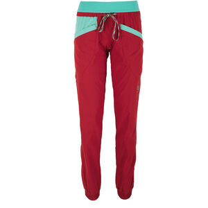 La Sportiva Mantra Pants Damen berry/mint berry/mint