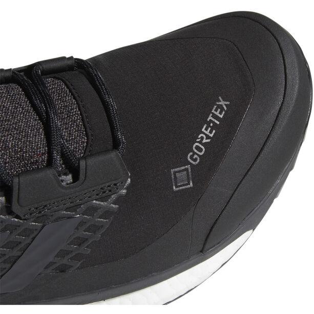 adidas TERREX Free Hiker GORE-TEX Wanderschuhe Herren core black/grey three/active orange