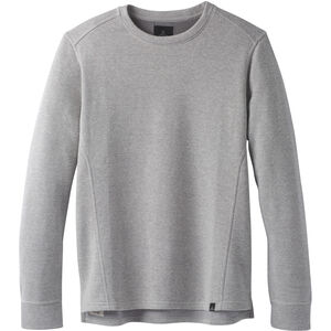Prana Norcross Rundhals Langarmshirt Herren heather grey heather grey