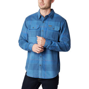Columbia Flare Gun Cord Shirt Herren scout blue large check scout blue large check