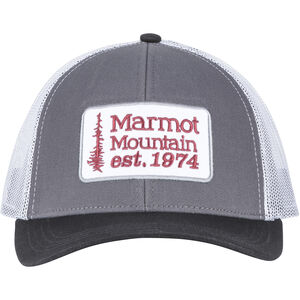 Marmot Retro Trucker Hat dark steel/black dark steel/black