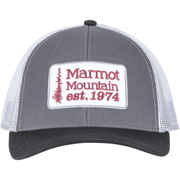 Marmot Retro Trucker Hat dark steel/black