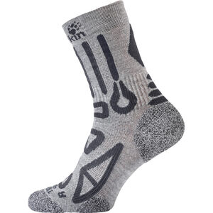 Jack Wolfskin Trekking Pro Classic Cut Socken light grey light grey