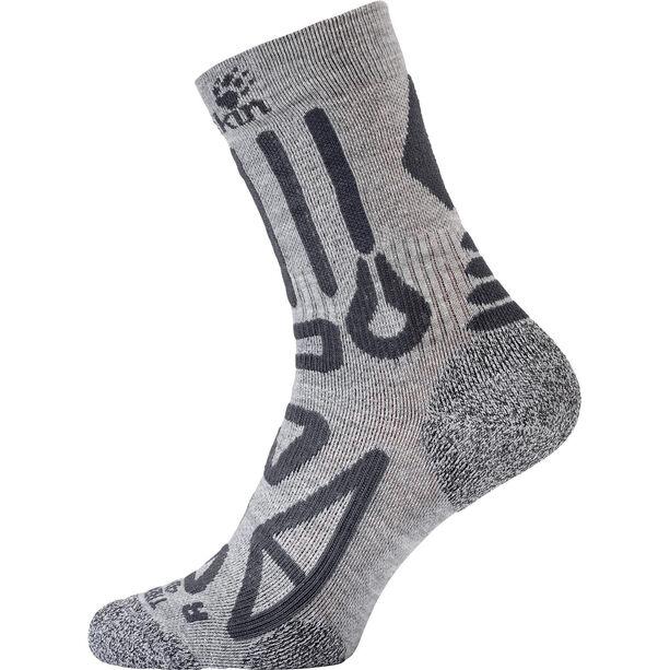 Jack Wolfskin Trekking Pro Classic Cut Socken light grey