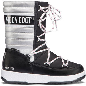 Moon Boot Quilted WP Stiefel Mädchen black-silver black-silver
