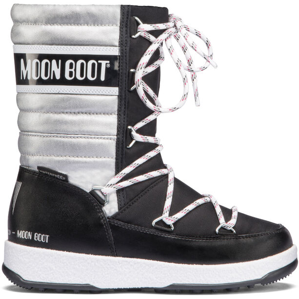 Moon Boot Quilted WP Stiefel Mädchen black-silver