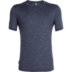 Icebreaker Sphere SS Rundhalsshirt Herren midnight navy heather midnight navy heather