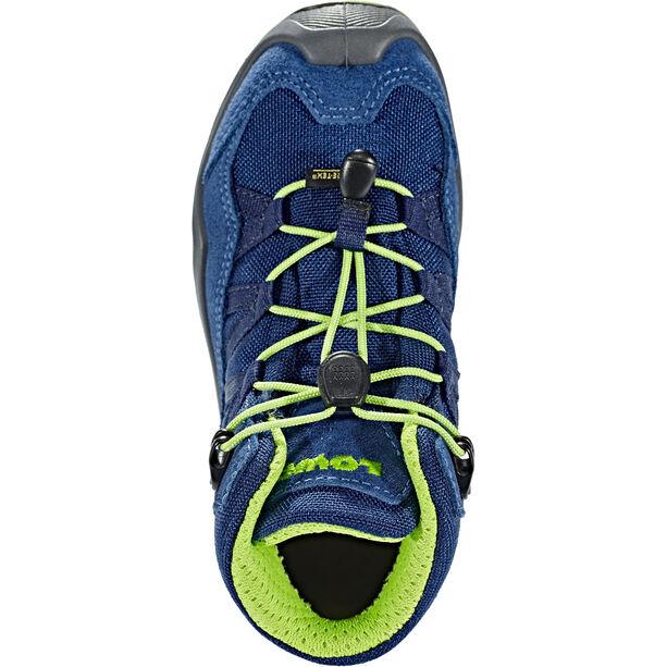 Lowa Robin GTX QC Schuhe Kinder blue/lime
