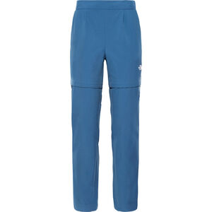 The North Face Inlux Zip-Off Hose Damen blue wing teal blue wing teal