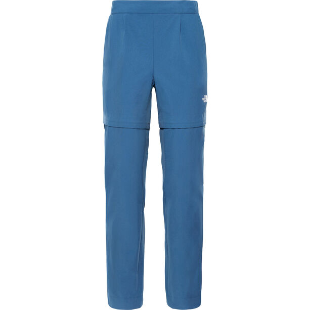 The North Face Inlux Zip-Off Hose Damen blue wing teal